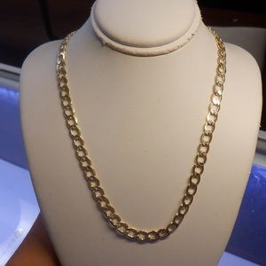 Jewelry - 14k real solid yellow gold open link chain. NEW